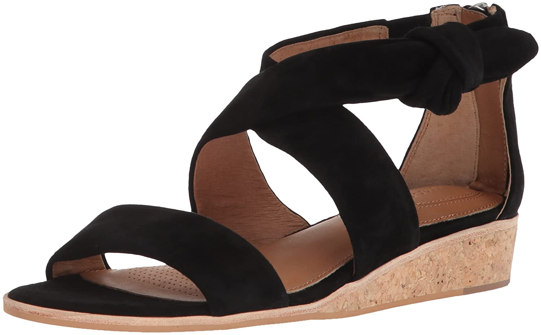Corso Como Women's Cc-Rasque Wedge Sandal B07BL6PZWX 5 B(M) US|Black