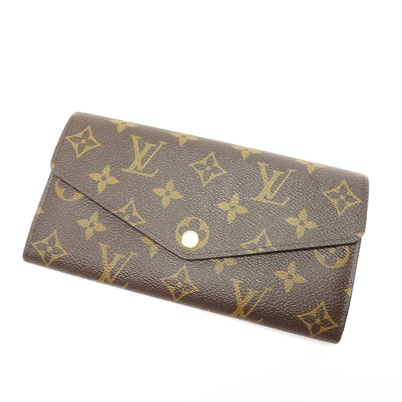 [ルイヴィトン]ポルトフォイユサラ 長財布(小銭入れあり) モノグラムキャンバス レディース (中古) B07DGQF2K7