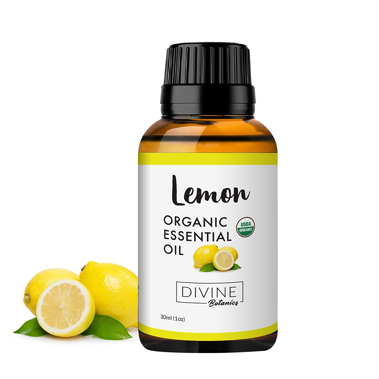 Amazon Com Divine Botanics Lemon Organic Essential Oil Organic 30ml Beauty