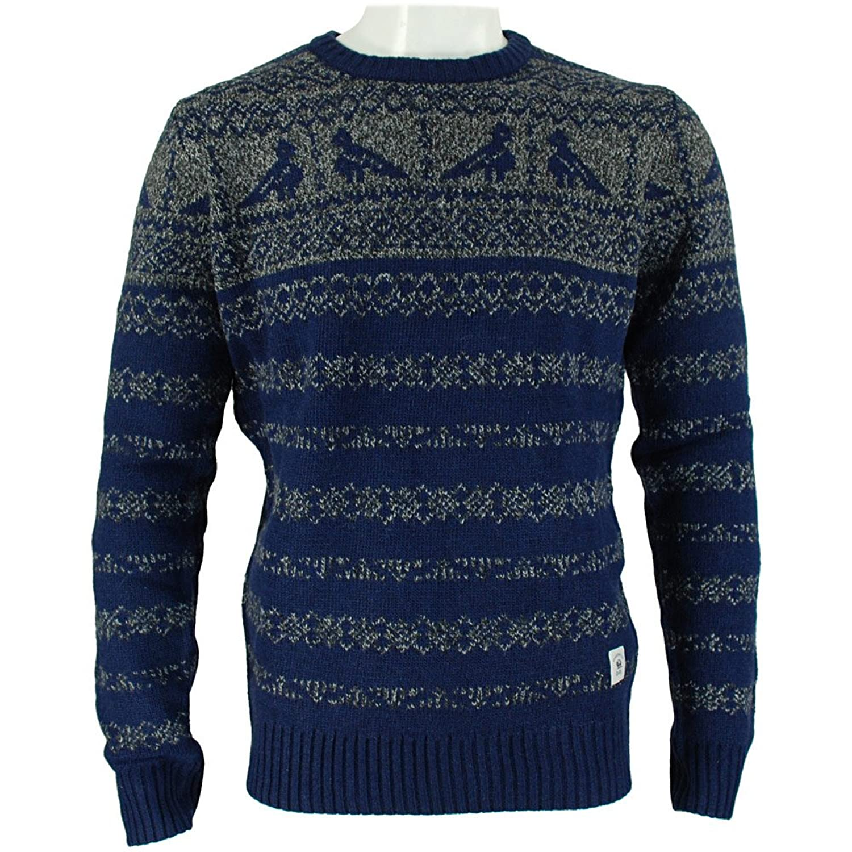 Bellfield Joakim Mens Sweater Navy