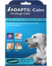 ADAPTIL Calm On-the-Go Collar, helps dogs cope with behavioural issues and life challenges - Medium/Large Dogs
