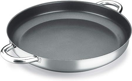 PAELLERA ALZA CLASSIC MASTER. PAELLERA fabricada en acero inoxidable 18/10, antiadherente triple capa, apta para todo tipo de cocina, INDUCCIÓN. Fácil Limpieza. Apto para lavavajillas. 32cm: Amazon.es: Hogar