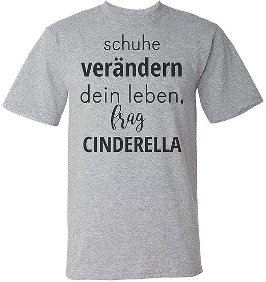 Schuhe Verändern Dein Leben Frag Cinderella Männer Mens T Shirt
