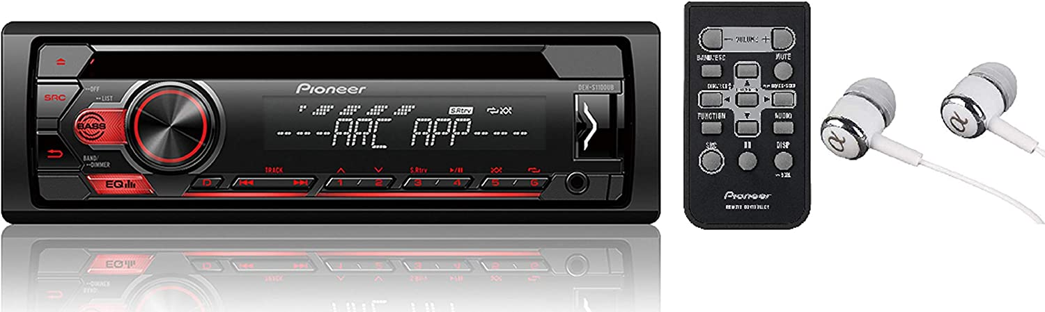 Pioneer Single Din Car Stereo Receiver
