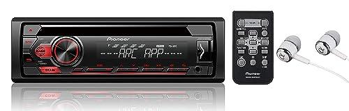 Pioneer Single Single-Din Car Stereo Receiver