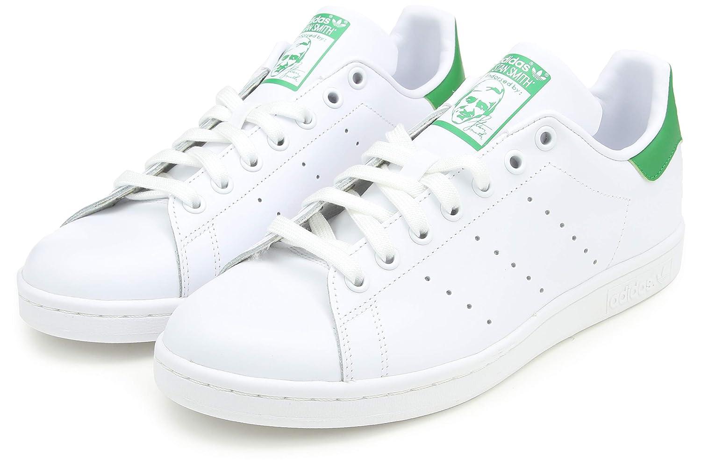 Adidas Originals Stan Smith Baskets mode Mixte Adulte Blanc (Footwear Whitefootwear Whitegreen) 47 13 EU