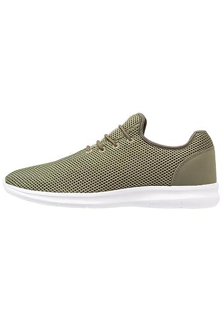 YOURTURN Slip on Sneakers Men in Olive Green, Size 40