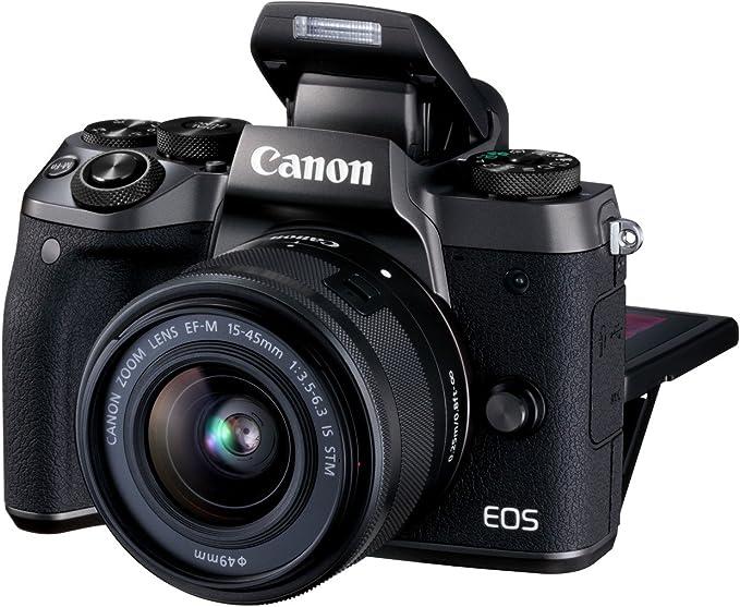 Canon EOS M5 - Kit de Cámara Evil de 24.2 MP con Objetivo EF-M 15 ...