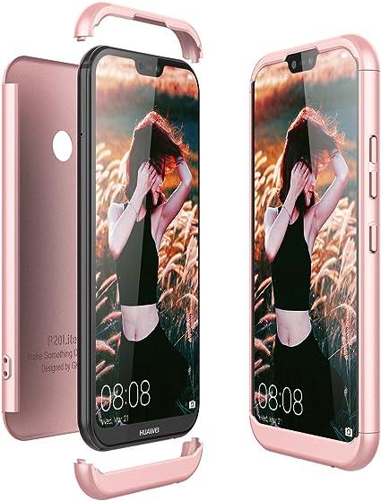 3x Coque pour Huawei P20 Pro Silicone Beaulife Group 2 /Étui Ultra Mince en Caoutchouc Peint Silicone Souple TPU Gel Bumper Coque Housse Antichoc Drop-Protection Coque Huawei P20 Pro