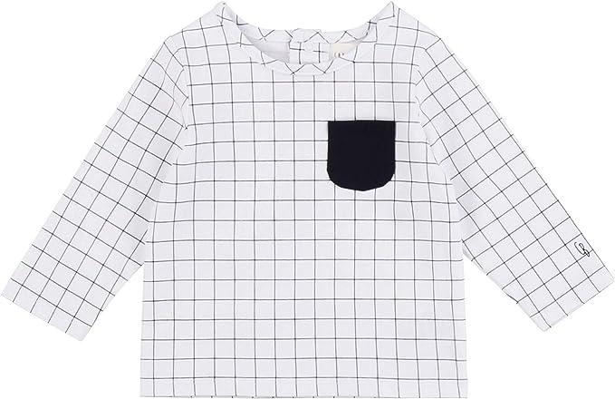 CARREMENT BEAU T-Shirt volant/é en Coton Bio Bebe Couche