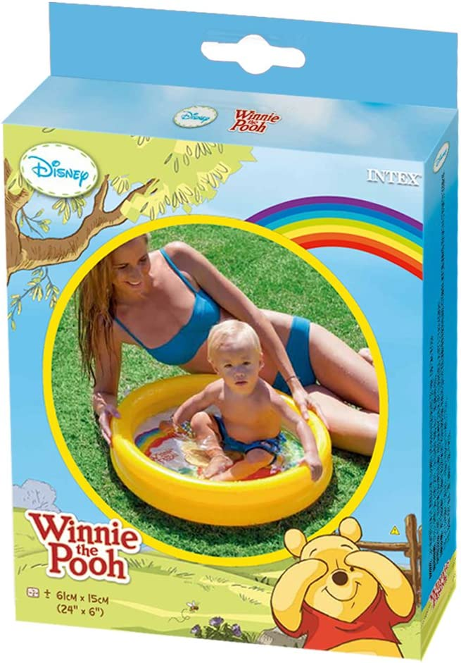 Intex - Piscina hinchable, 61 x 15 cm, 15 l, diseño winnie the ...