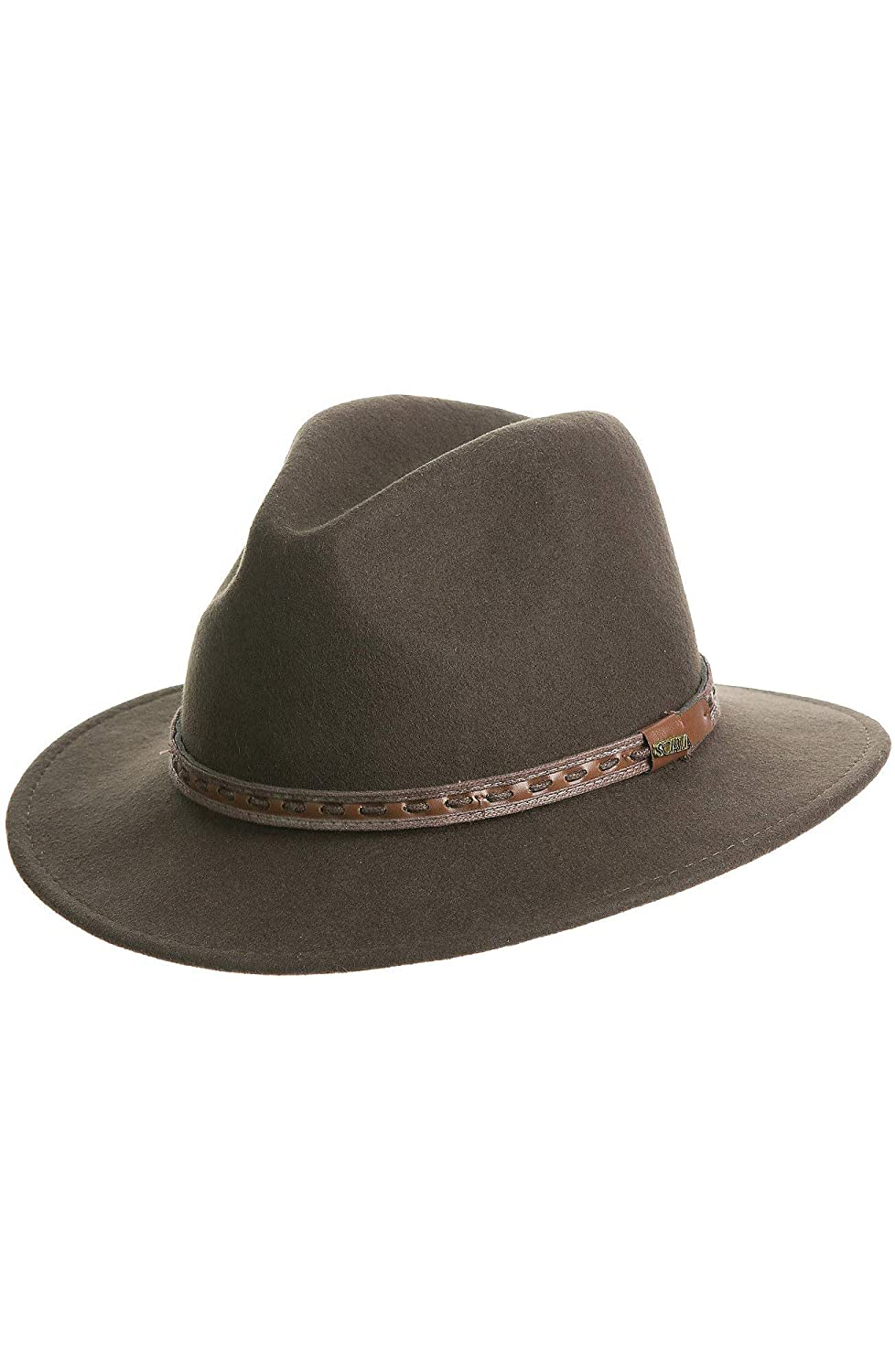 0bd5eb825d8e5d Overland Sierra Crushable Wool Safari Hat Overland Sheepskin Co. 78108
