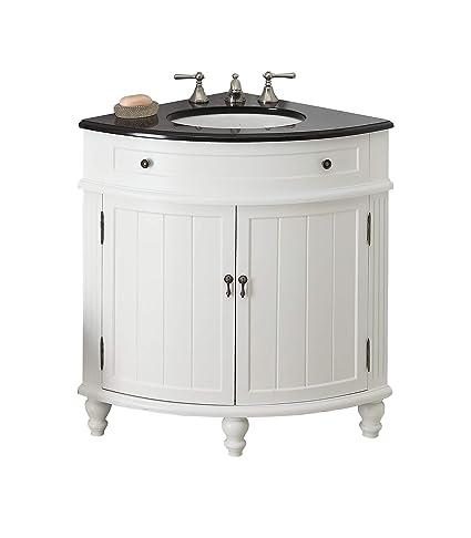 Strange 24 Thomasville Corner Sink Bathroom Vanity Model Gd 47533Gt Interior Design Ideas Clesiryabchikinfo