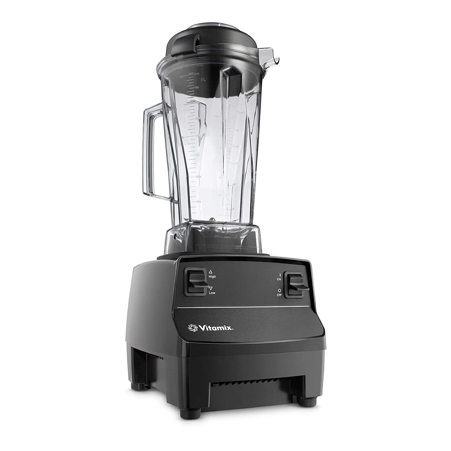 Vitamix Two Speed Blender, Professional-Grade, 64oz. Container, Black (Certified Refurbished)