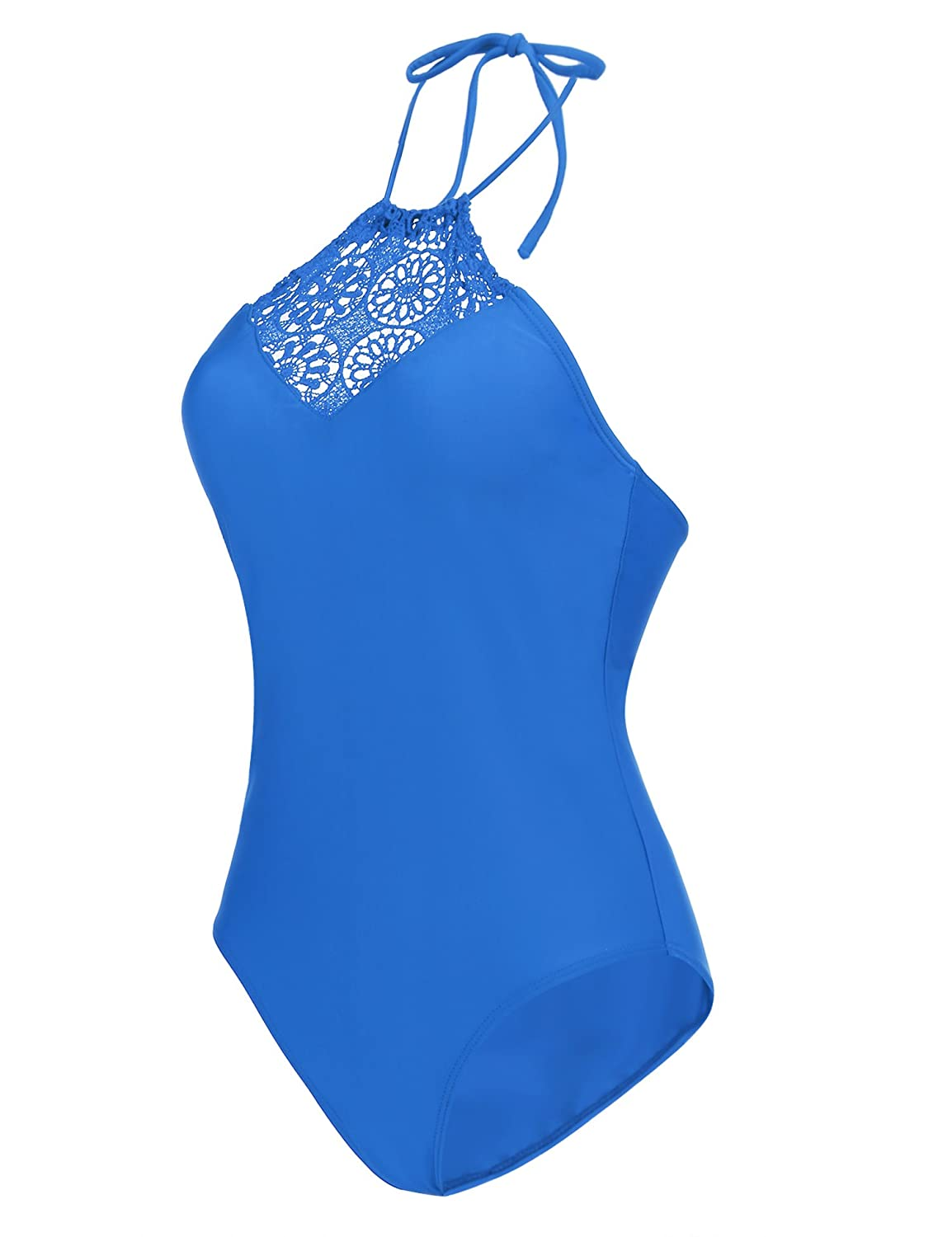 9919fc867f799 82% Polyamide and 18% Elastane, women's one piece swimsuits. Lace up and  high cut hollow in both sides fashion monikini for all body shapes