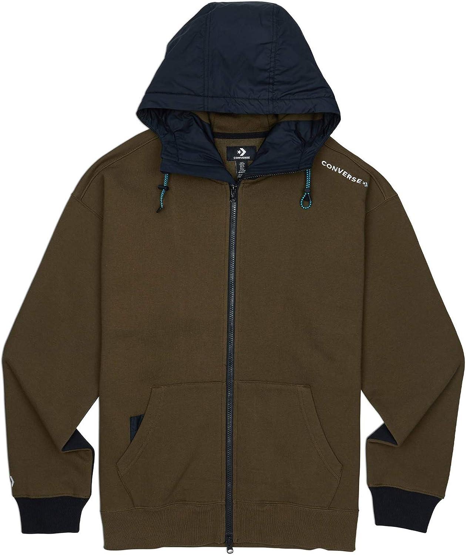 Converse 10017907 A03 Sweatshirt Man: : Vêtements