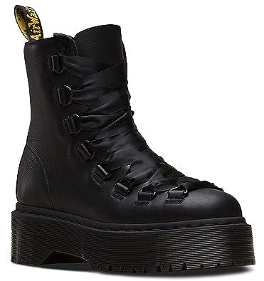 Quad Leather Boot Retro Pisasmooth Women's Trevonna DrMartens T1lcKJF