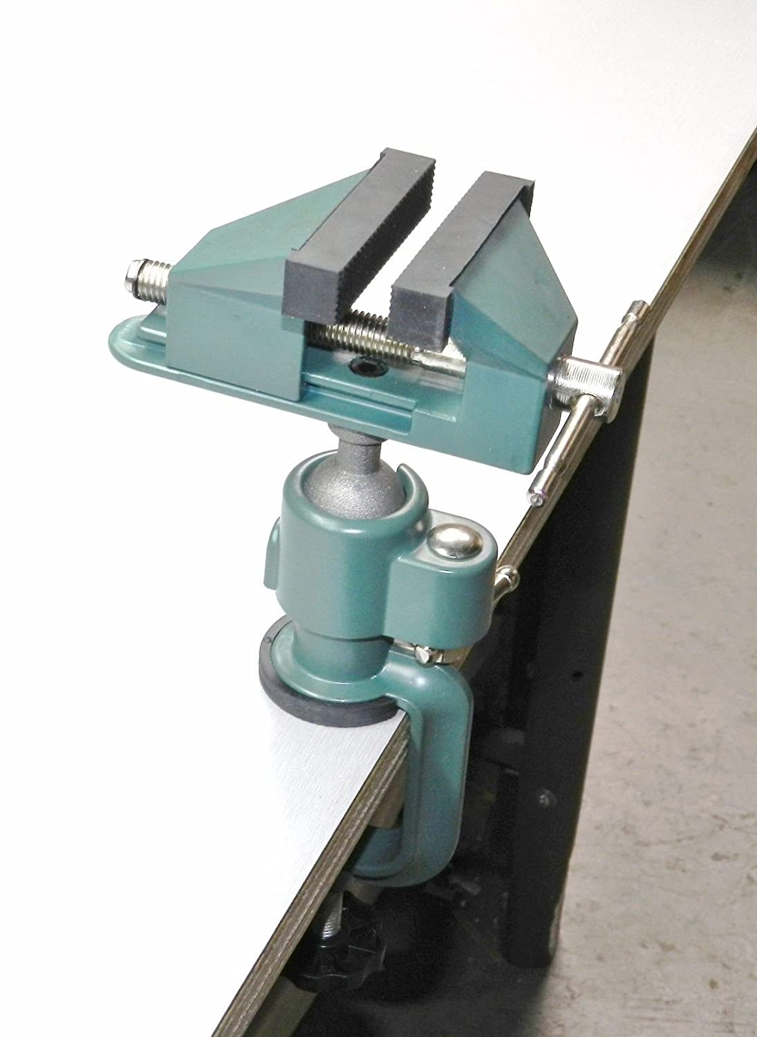 Bench Vise Swivel 3 Tabletop Clamp Base Vice Tilts Rotates 360 Panavise Circuit Board Holder W Hobby Craft