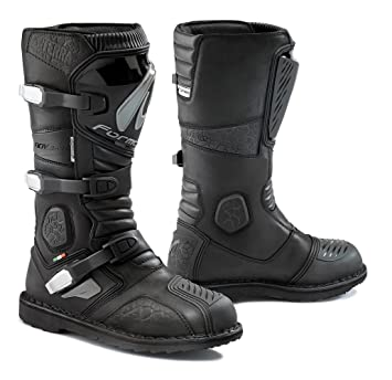 Amazon.com: Forma Terra Enduro Off-Road Motorcycle Boots (Black ...