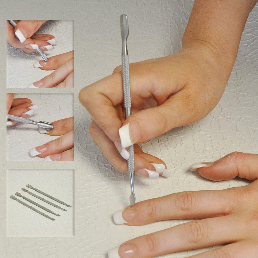 Cuticle Pusher/ Scraper Tool: Amazon.co.uk: Health & Personal Care