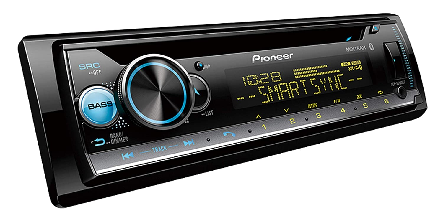 Pioneer DEH-S5100BT in-Dash Built-in Bluetooth CD, MP3, Front USB, Auxiliary, Pandora, AM FM, Built in iPod, iPhone and iPad Controls, Dual Phone Connection Stereo Receiver