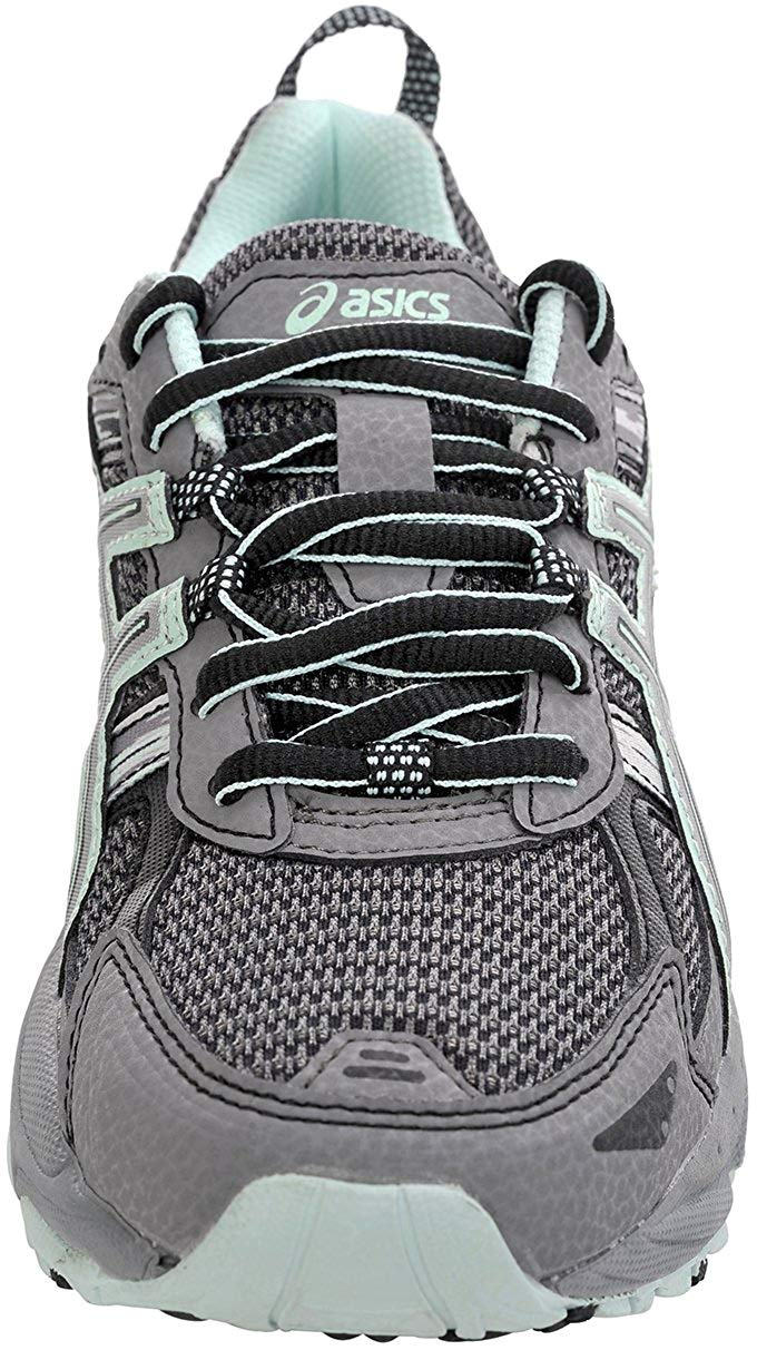ASICS Women's Gel-Venture 5 Trail Running Shoe, Frost Gray/Silver/Soothing Sea, 6 M US by ASICS (Image #2)