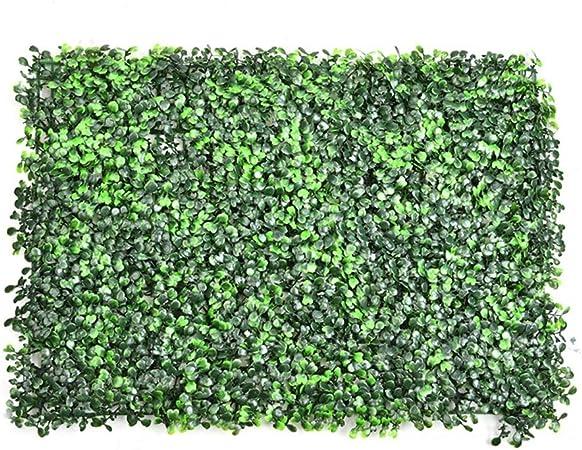 Jardín Vertical Artificial Pared Césped Planta Flor Cesped Plantas Guirnalda Decorativa para Decoración Hogar de pared Escalera Ventana Balcón Valla Jardín Boda Mesa Fiesta Interior y Exter: Amazon.es: Hogar