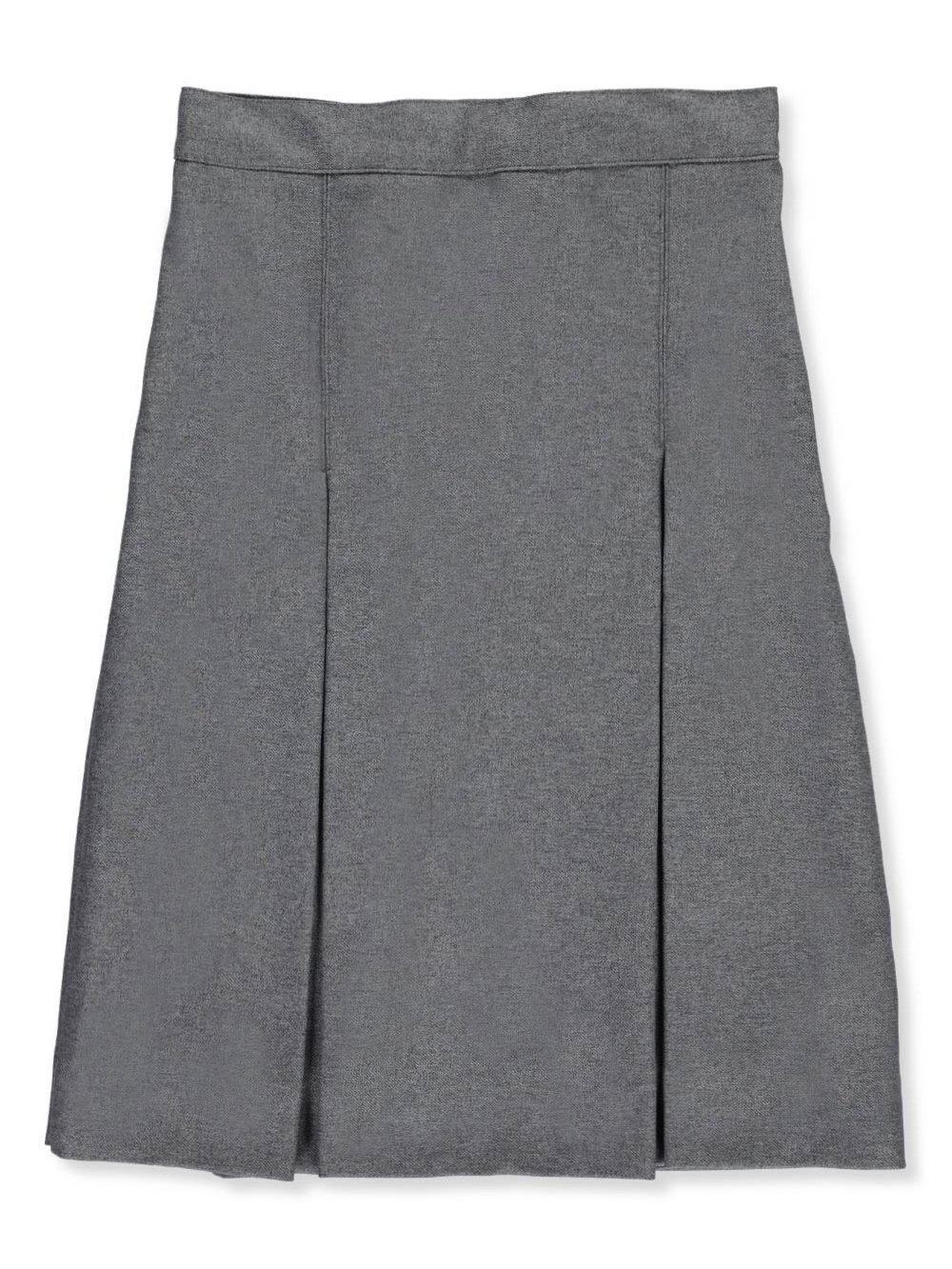 Cookie's Brand Big Girls' Plus 3'' Box Pleat Skirt - Gray, 18