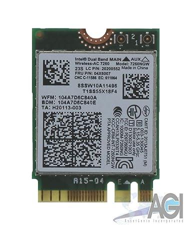 Amazon.com: Lenovo N20/N20p Chromebook tarjeta wifi USI de ...