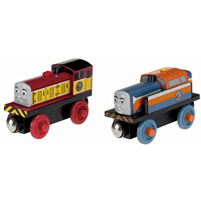 Fisher-Price Thomas & Friends Wooden Railway, Den and Dart Train: Toys & Games