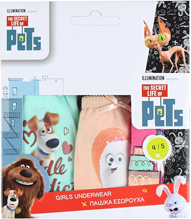 The Secret Life Of Pets /'Mel/' Girls One Size Cuddle Robe Brand New Gift