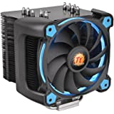 Thermaltake CL-P021-CA12BU-A Ring Silent 12 Pro CPU Cooler and Fan - Blue