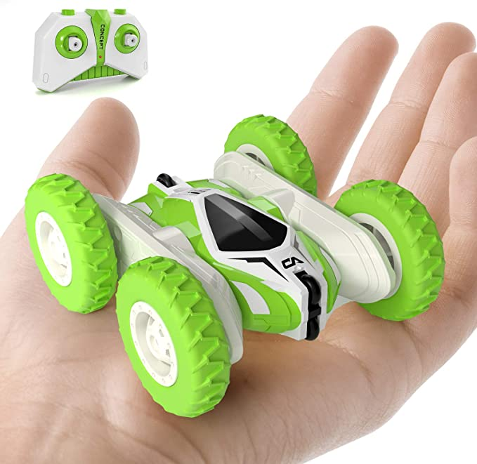 A Sinovan Mini Rc Cars Stunt Car Toy 4wd 2 4ghz Remote Control Car Double Sided Rotating Vehicles 360c Flips Kids Toy Cars For Boys Girls Birthday Amazon Ca Toys Games