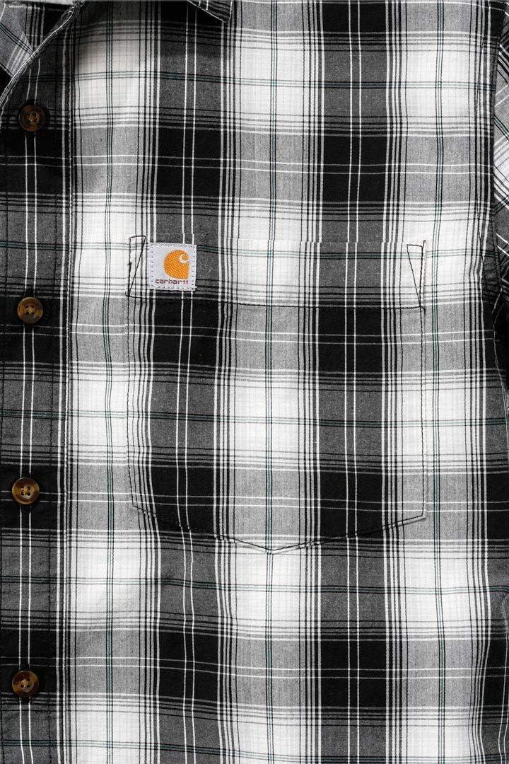 Carhartt Mens 100/% Cotton Slim Fit Short Sleeve Chest Pocket Shirt