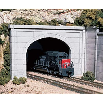 Woodland Scenics WS 1156 N Tunnel Portal Concrete-2 Double: Home & Kitchen