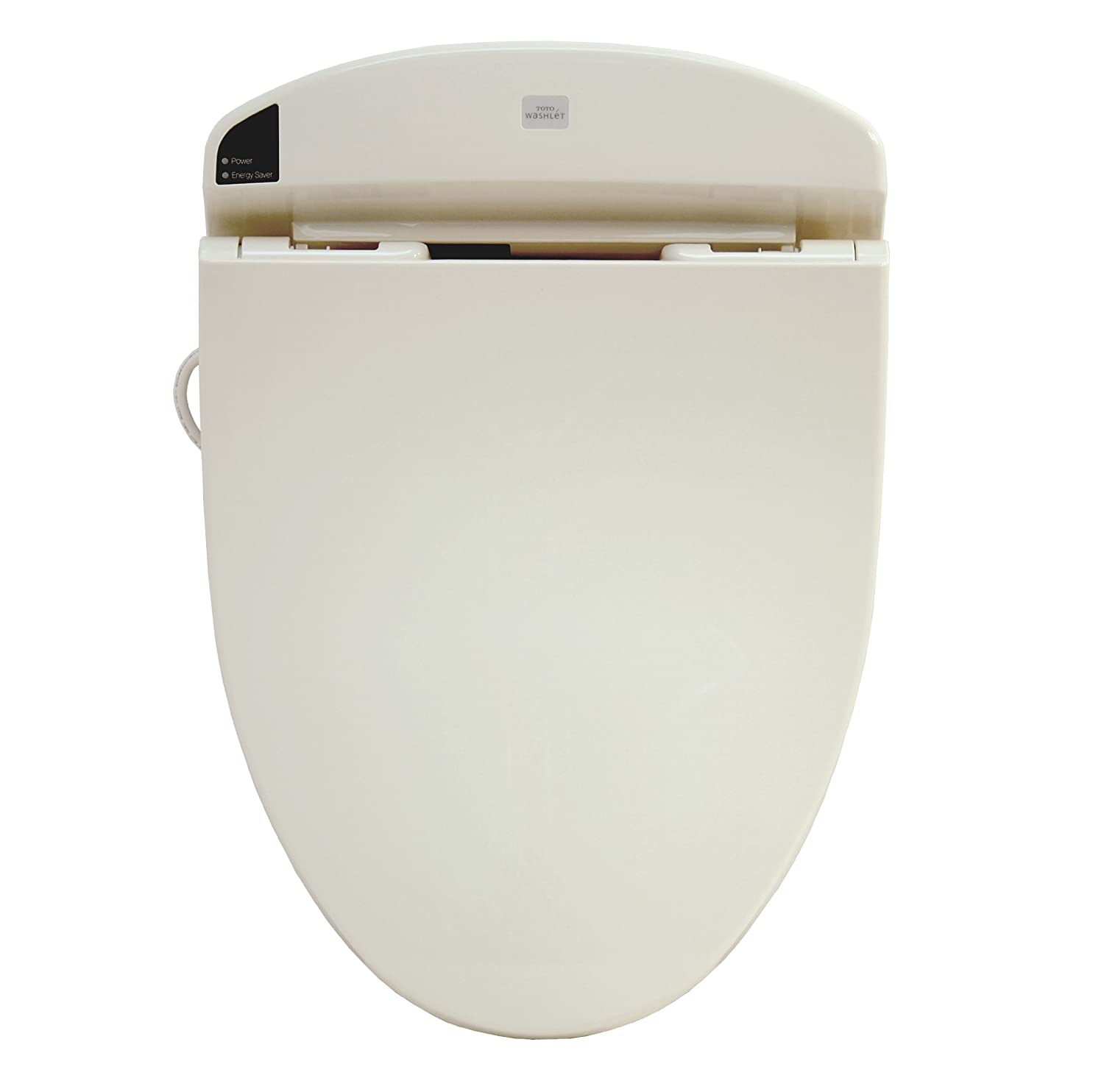 TOTO SW844#12 Washlet E200 Elongated Front Toilet Seat, Sedona Beige ...
