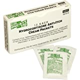 Pac-Kit by First Aid Only 18-012 Hydrocortisone Anti-Itch Cream Packet (Box of 12)