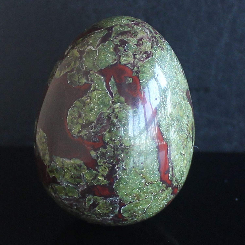1.5'' Dragon Blood Jasper Egg