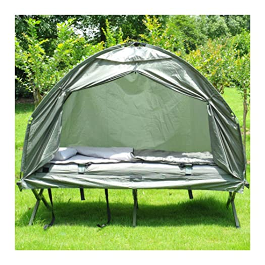 Outdoor 1-person Folding Tent Elevated