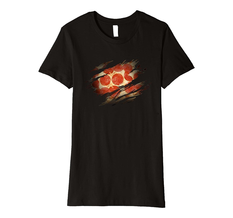 Pizza Lover – Superhero Hero Pizza Heartbeat – Funny Pizza