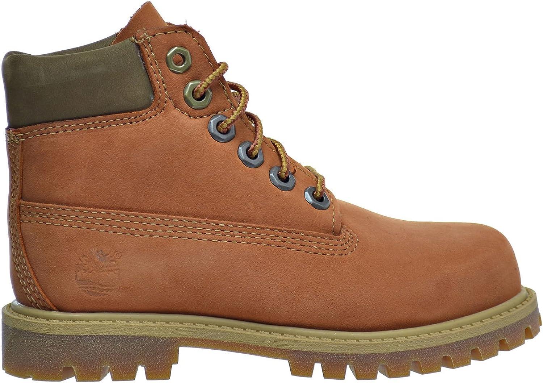 Timberland 6 in Premium Garçon Boots Marron: