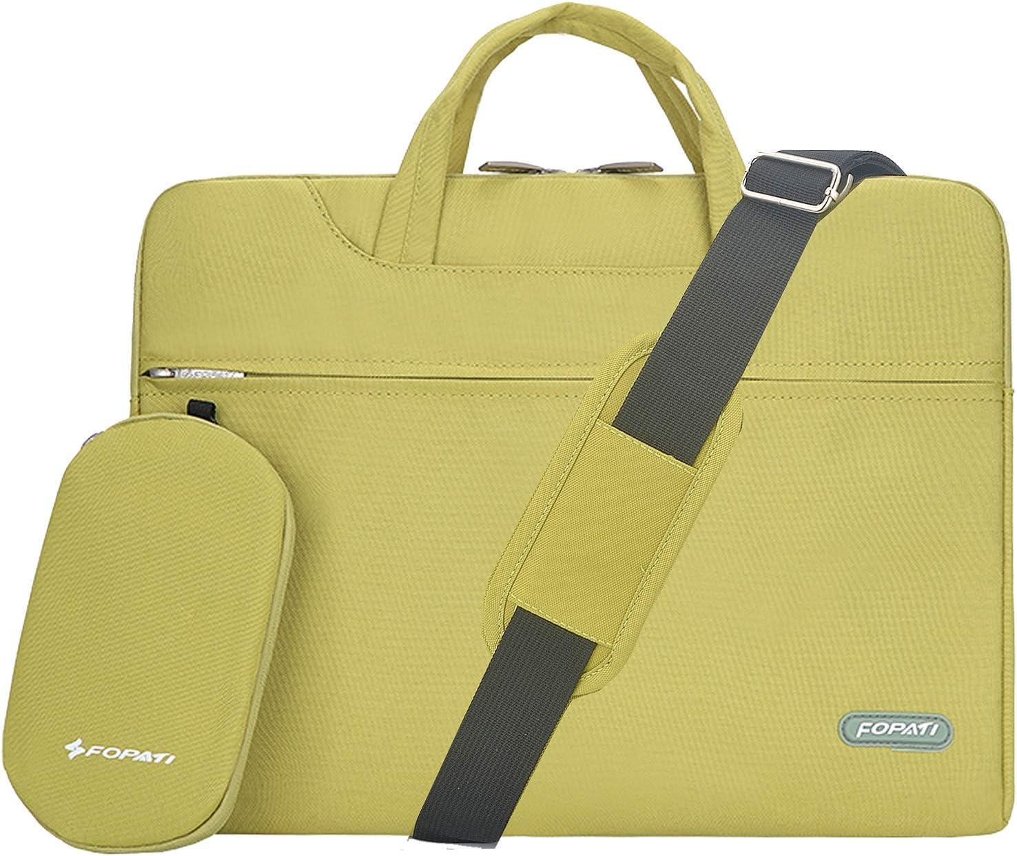 Acer Aspire FOPATI 15-15.6 Inch Laptop Sleeve Case Briefcase Shoulder bag Messenger bag for Macbook Pro 15 HP Pavilion Lenovo IdeaPad ASUS X551MA Dell Inspiron Laptop bag 15.6 inch Red