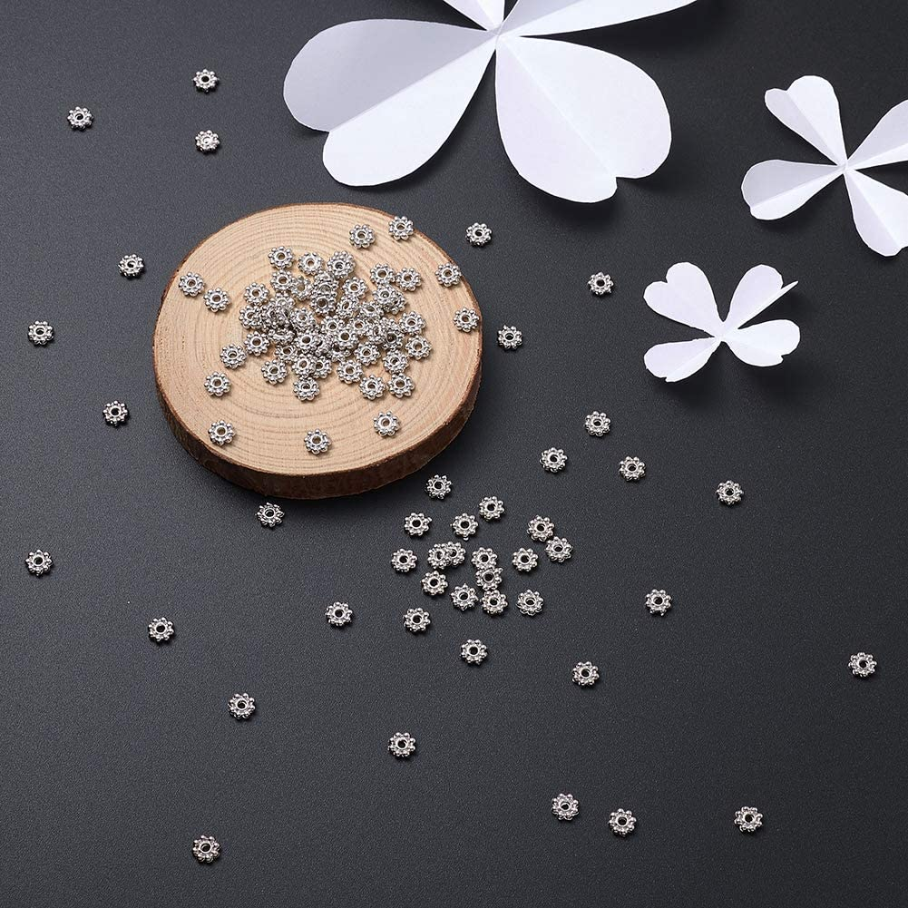 Craftdady About 2950Pcs//50g Golden Iron Mini Round Ball Spacer Beads 2.5x2mm Metal Tiny Smooth Rondelle Charm Loose Beads for DIY Jewelry Craft Making with 1.2mm Hole