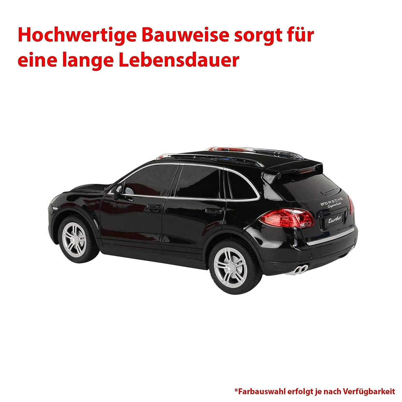 Porsche Cayenne Turbo RC ferngesteuertes sous licence véhicule dans le modèle échelle : 1 : 24, avec télécommande: Amazon.es: Juguetes y juegos