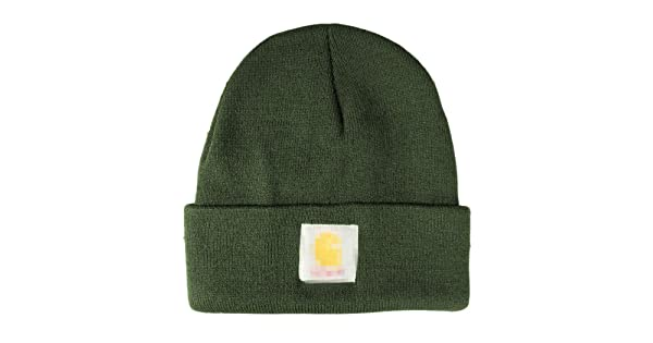 a4e5f8a2a99 comMickee Men Ladies Casual Knitted Woolen Winter Elastic Slouch Beanie Hat  Cap Skateboard (Army Green)