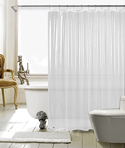 Amazon Com Fitnate Resistant Anti Bacterial Peva Shower Curtain