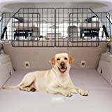 Vetoos Car SUV Dog Barrier, Vehicles Pet Divider Gate for Trunk Cargo Area - Extendable for Universal Fit, Foldable for…