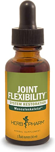 Herb Pharm Joint Flexibility Liquid Herbal Formula for Musculoskeletal System Support – 1 Ounce