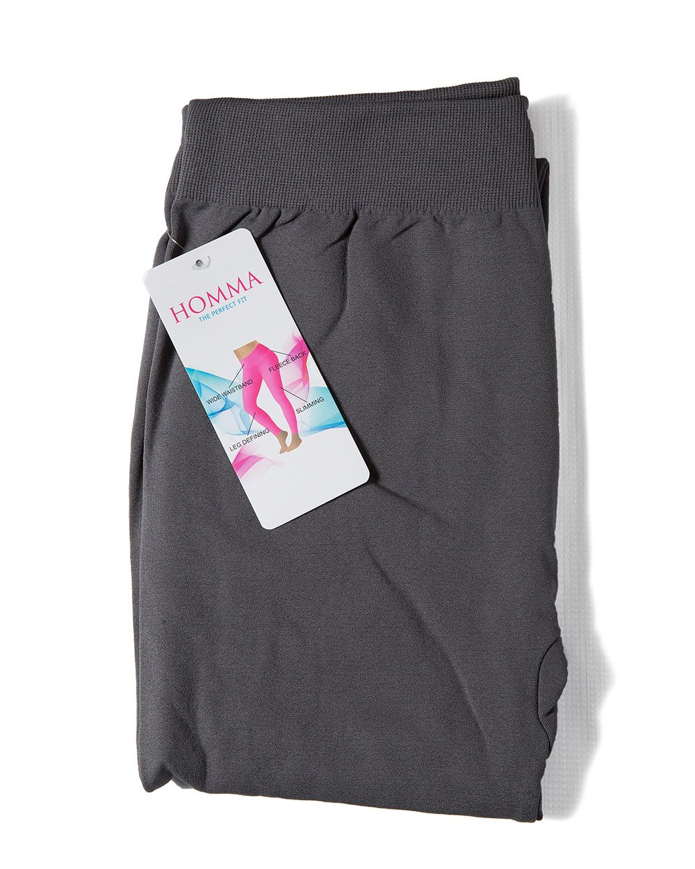 3-Pack Fleece Lined Thick Brushed Leggings by Homma (S/M/L, BLACK/NAVY/GREY) by Homma (Image #6)