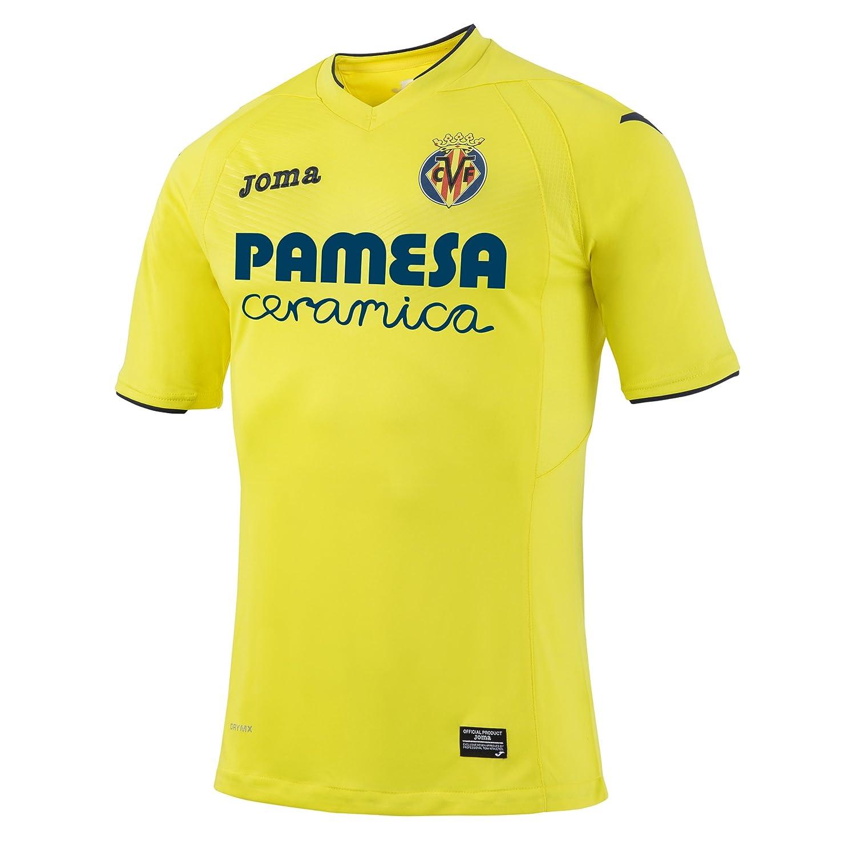 2016-2017 Villarreal Joma Home Football Shirt B01LRQO5O2 XXXL 46-48
